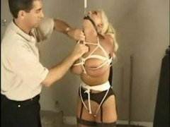 Large tits girl tied up in the garage movies at kilotop.com