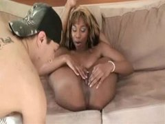Flexible black girl bends back and he eats her out movies at find-best-lesbians.com
