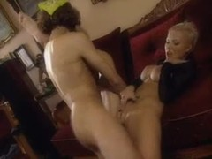 Erotic short-haired euro girl with big titties fucked movies at lingerie-mania.com