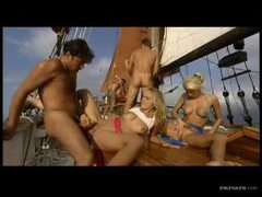Orgy on a yacht with hotties tubes