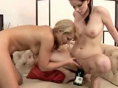 Fisting and bottle fucking lesbians videos