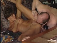 German milf gets her hubby off videos