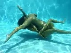Lesbian sex underwater looks amazing movies at kilogirls.com