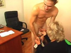 Mature secretary seduces him in the office videos
