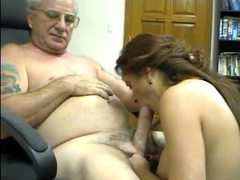 Slut auditions for old pervert videos