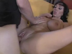 Naughty milf moans for big cock inside her videos