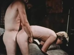 Rough dominating vintage gay hardcore movies