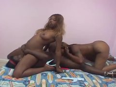 Three black lesbians mess around in bed movies at find-best-lingerie.com