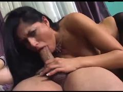 Pantyhose gal tongued and ass fucked tubes
