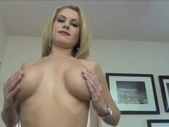 Your hot therapist makes fun of your small cock movies at lingerie-mania.com