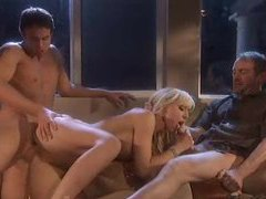 Incredible body on blonde threesome girl movies at kilovideos.com