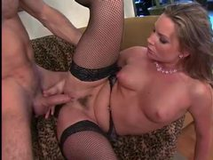 Flower tucci in fishnets has anal sex videos