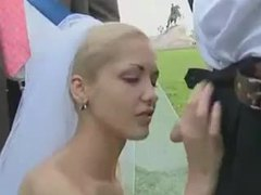 Bride sucks cock in a field on wedding day movies at kilovideos.com