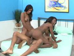 Both girls can ride black dick like hotties videos