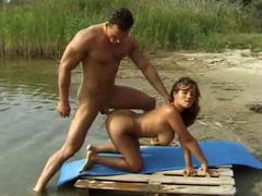 Anal sex by the river for latina slut tubes