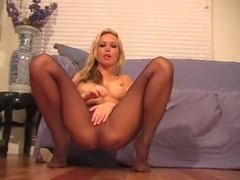 Kayden kross in pantyhose tease video movies