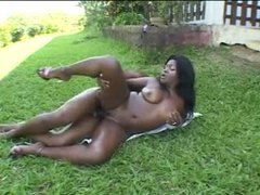 Black anal outdoors with a fun facial movies at nastyadult.info
