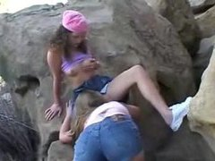 Girls in the park eat pussy outdoors videos