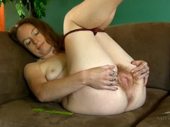 Hairy all over girl combs her armpit hair movies at kilosex.com