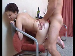 Drunk mature chick sucks dick and gets fucked videos