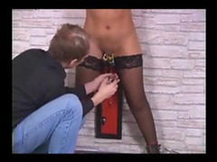 Alligator clips on her pussy and pumps on her nipples movies at freelingerie.us
