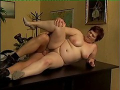 Fat mature slut fucked on the desk movies at dailyadult.info