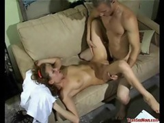 Teen pussy eaten and fucked hard movies at sgirls.net