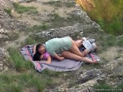 Napping girl fucked hard outdoors videos