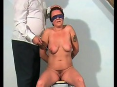 Tit and clit pain for the slut movies at lingerie-mania.com