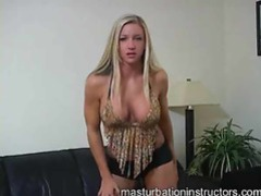 Sexy blonde babe teases you movies at kilosex.com