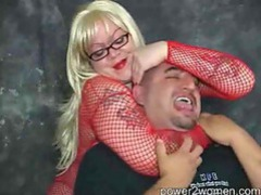 Cutting off his air supply with a headlock movies at kilovideos.com