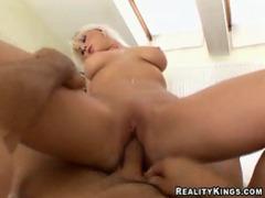 Stacked blonde sliding cock movies at sgirls.net