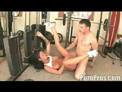 Fucked hard in the gym movies at sgirls.net