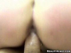 Yummy ass filled with meaty dick movies at kilosex.com