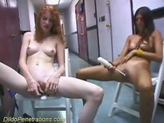 Hot girls fucking their pussies videos