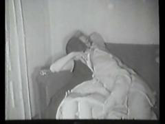 Retro couple making out and getting closer to fucking videos