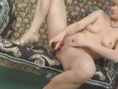 The cute blonde milf sucks the toy and fucks her pussy with it movies at find-best-lingerie.com