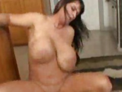 The curvy gal with huge tits is nailed videos