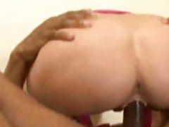 The hot blonde cougar is fucked by a black dude videos
