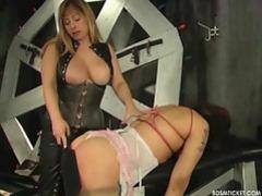 Slave has her titties tied up videos