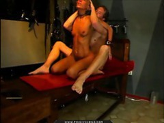 Sexy slut is tied up and fucked by her man videos