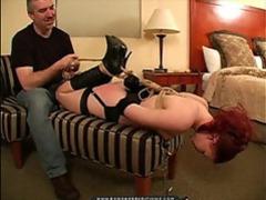 Redhead bondage slut tied up movies at kilotop.com