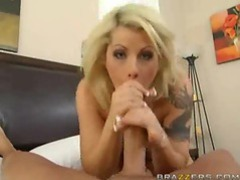 Blonde gives head and rides his face movies at kilotop.com