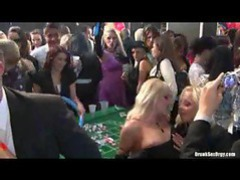 Casino party starts get wild as ladies get drunk videos