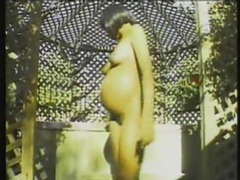 Pregnant black chick getting in the hot tub movies at find-best-mature.com