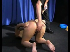 Girl is treated like a dog and spanked movies at sgirls.net