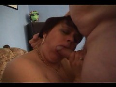 Granny in stockings pumped in her pussy movies at kilogirls.com