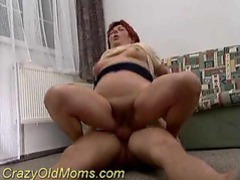Old slut with pierced pussy sitting on cock movies at sgirls.net