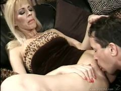 Eager milf lets him inside her pussy videos