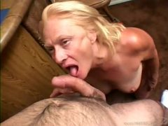 Mature blonde sucking and fucked by cock videos